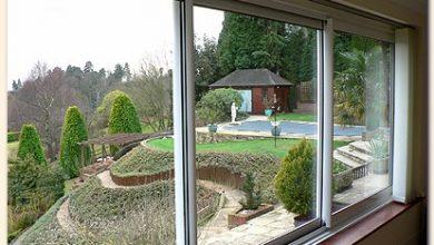 تصویر از پنجره دوجداره